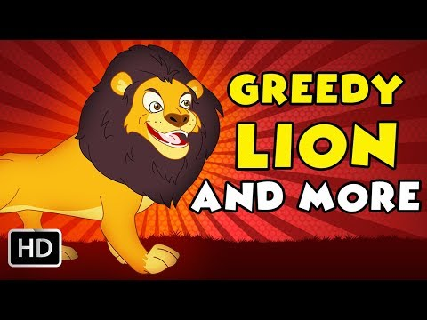 Greedy Lion And More   Non-Stop Compilations   Tamil Rhymes for Kids