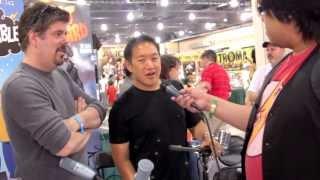 Comic Book Men Ming Chen & Mike Zapcic Get Pretentious @ Wizard World '12