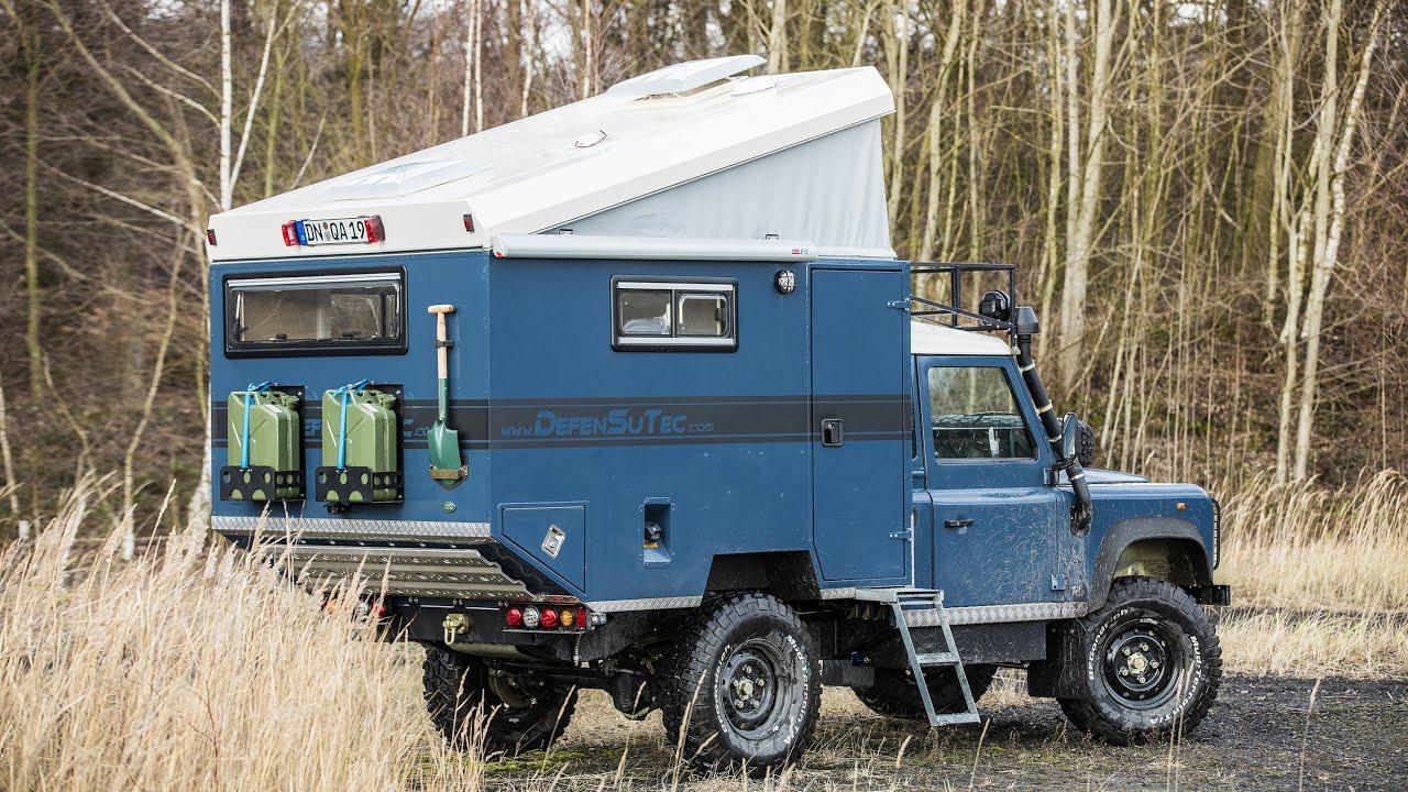 land rover defender 110 test defensutec hermit 250 rugged. Black Bedroom Furniture Sets. Home Design Ideas