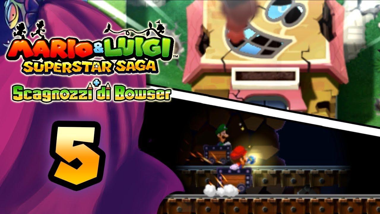 190dca8887430 Mario   Luigi Superstar Saga + Scagnozzi di Bowser ITA  Parte 5 - Borgo  Fagiolandia