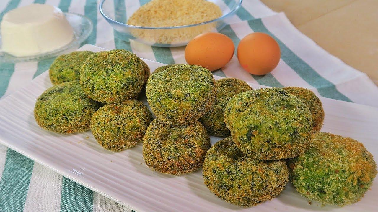 Polpette di spinaci filanti ricetta facile fatto in casa for A casa con benedetta