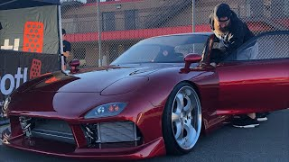 LIVE Mickey's FD RX-7 Bad Apple Public Debut!