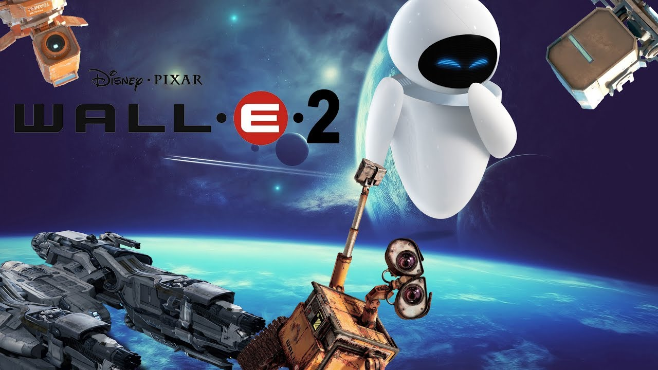 WALL E 2 A NEW WORLD Official trailer fanmade | NAHUDA