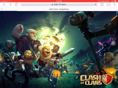 Clash of clans funny wallpaper