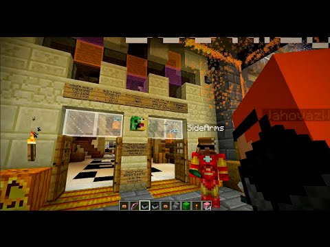Minecraft - Halloween Party House! (Crewniverse Creative Server ...