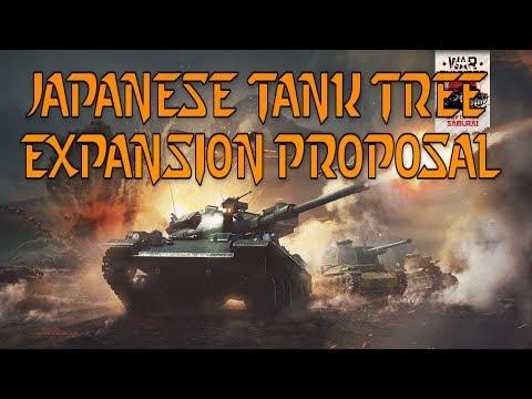 Japanese Tank Tree  Expansion Proposal