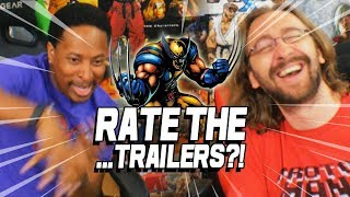 RATE THE...TRAILERS?! Max & Steve Review Fighting Game Trailers