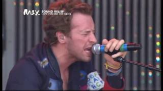 Coldplay Clocks Live Sound Relief 2009 Hd