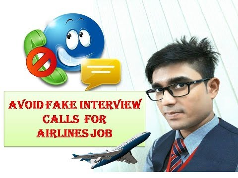 How to avoid fake interview calls and offer latte for Airlines Job,Stay Away From This Organisation#