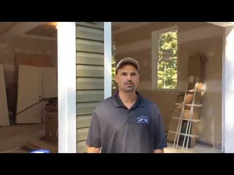 how to frame a garage door youtube 3