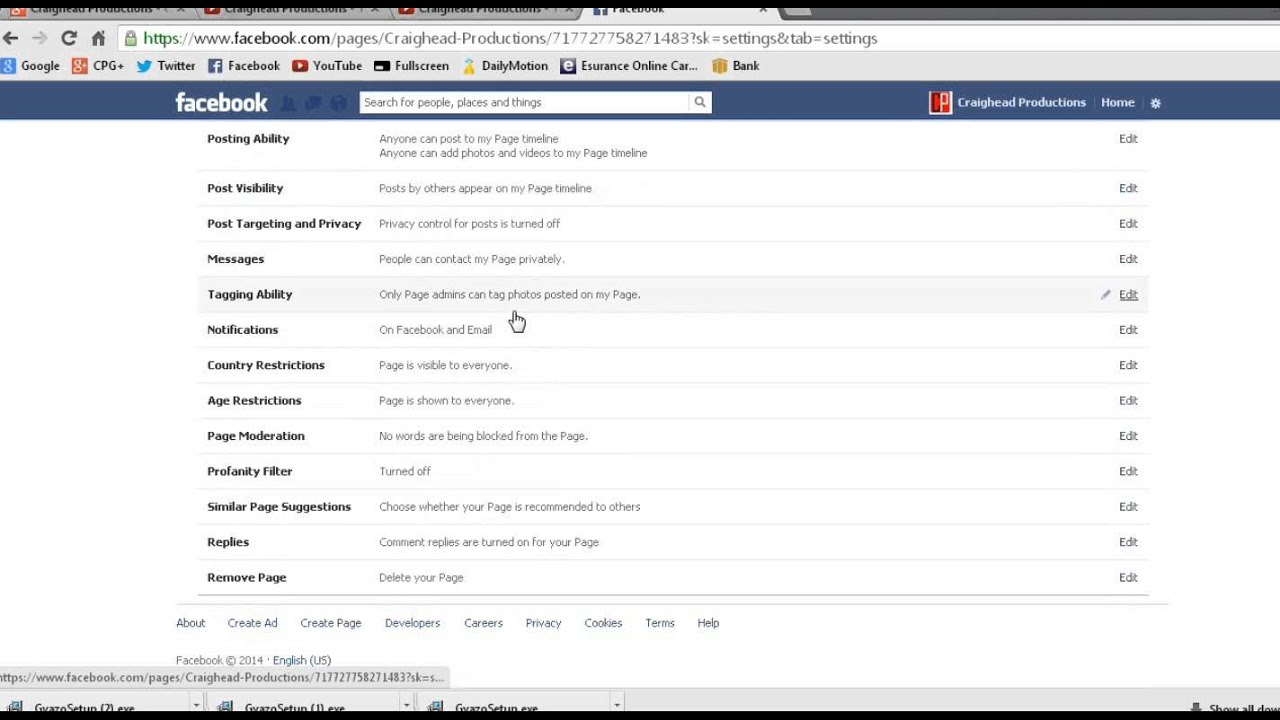 How to delete your facebook business page youtube how to delete your facebook business page ccuart Images