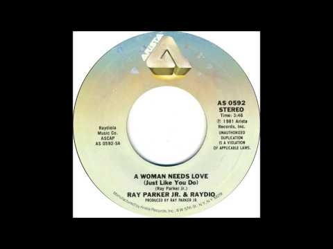 Ray Parker Jr & Raydio - A Woman Needs Love - Billboard Top 100 of 1981