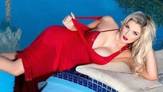 New Zealand model Sarah Louise Harris Press Meet Video