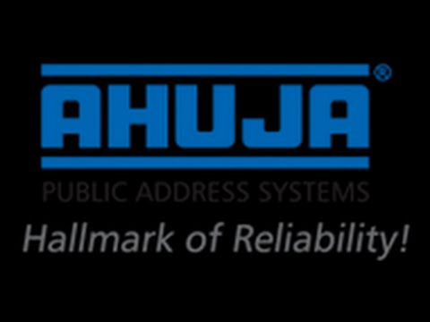 Ahuja PA System & Sound System Bangladesh (Amplifier, Column Speaker, Ceiling Speaker, MIcrophone)