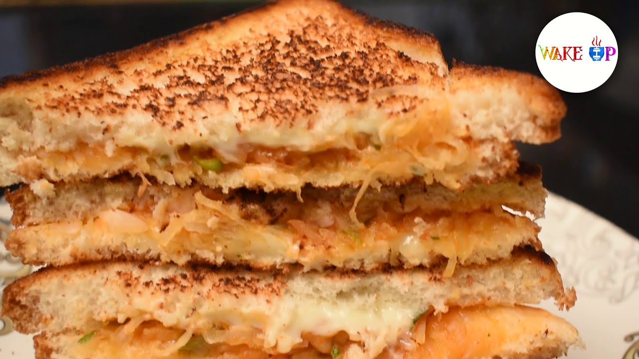 How to make cheese potato sandwich  sandwich recipe  cooking @wakeup