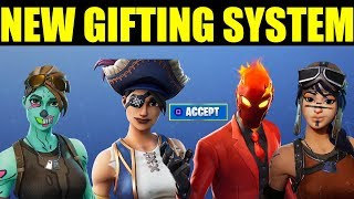 New Gifting Sytem in Fortnite (How to Gift items In Fortnite)