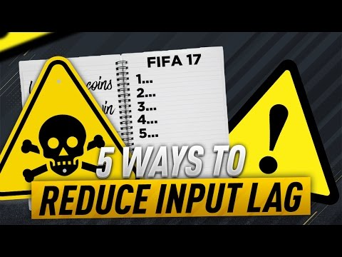 FIFA 17 HOW TO REDUCE THE INPUT DELAY...