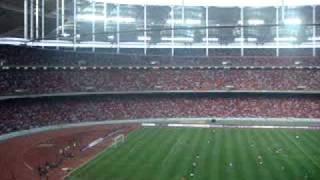 Manchester United Match vs Malaysia XI  Bukit Jalil Stadium 2009 Part 1