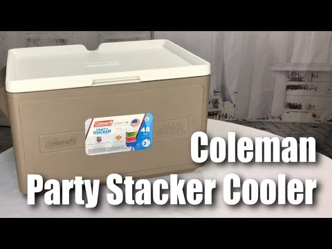 Coleman 33-Quart (48 can) Party Stacker Cooler Review