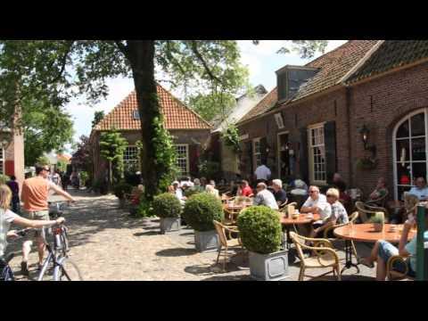 Riding along River IJssel (Netherlands)