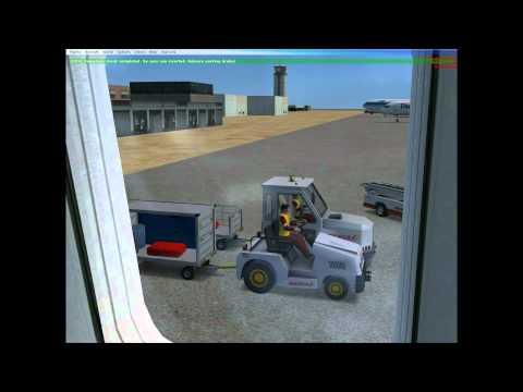 CAPTAIN SIM 757-300 MENORCA TO LONDON GATWICK