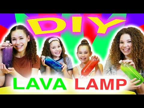 DIY Glitter Lava Lamp! (Glow in the Dark!)