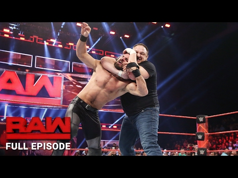 WWE RAW Full Episode, 30 January 2017