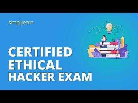 CEH Exam   Certified Ethical Hacker Exam   CEH Certification Exam   CEH Exam Tips   Simplilearn