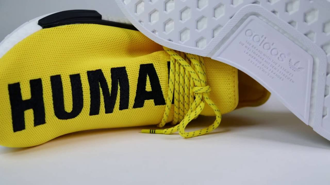 Unboxing: Pharrell Williams Human Race adidas NMD