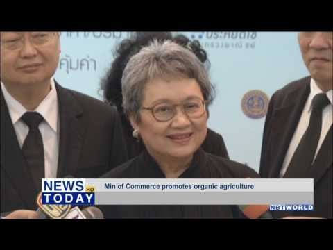 Ministry of Commerce promotes organic agriculture