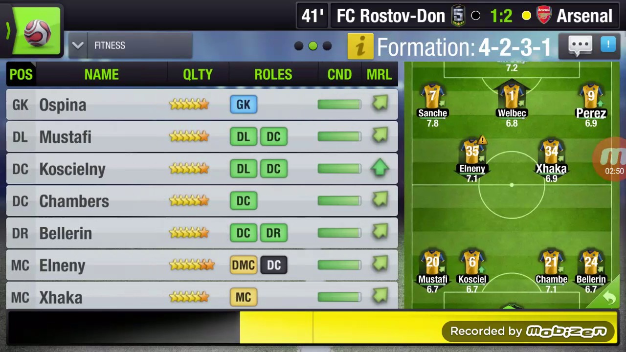 formation 4-2-3-1 top eleven