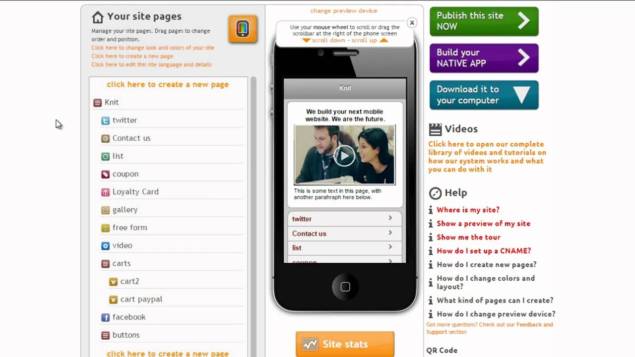 HOWTO] Share vCard electronic business cards on your mobile site ...
