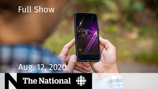 CBC News: The National | Aug. 12, 2020 | Violent arrest by Vancouver police caught on video