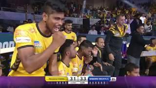 Pro Kabaddi 2019 Highlights: Telugu Titans vs Dabang Delhi K.C. | 24 July 2019 [English]