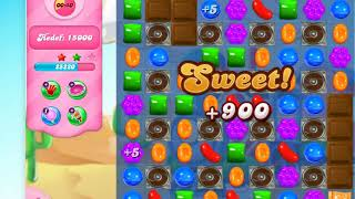Candy Crush Saga on Facebook level 166, Game