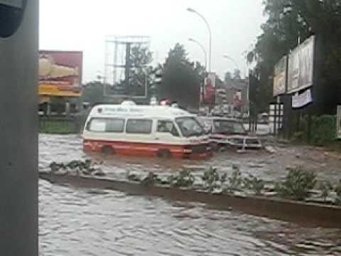 Kampala Clock Tower Floods