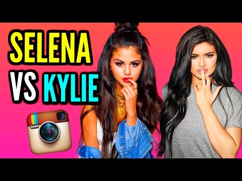 REACTING TO Celebrity Instagram Pictures! Kylie Jenner & Selena Gomez