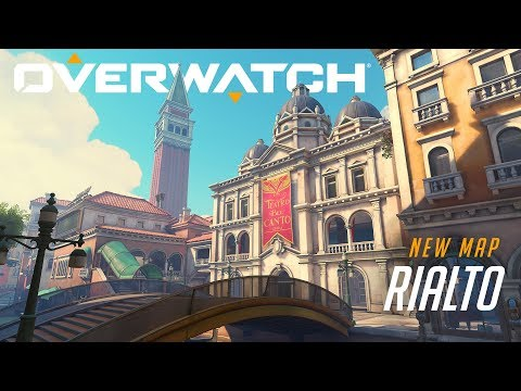 [NOW PLAYABLE] Rialto | New Escort Map | Overwatch (EU)