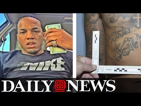 EXCLUSIVE  Gang Member Rips Off Bank Of America Then Tattoos Logo
