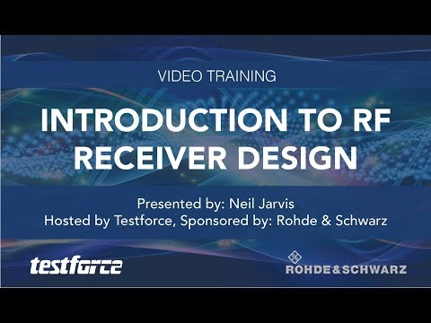 Introduction to RF Receiver Design : Free Online Training
