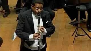 C.M. von Weber Concert N.2 for Clarinet Movt.1 (2007)