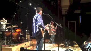 Tab Benoit engages his audience at the Harvester Performance Center