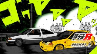 Quad City DJs vs Initial D - PROJECT. B