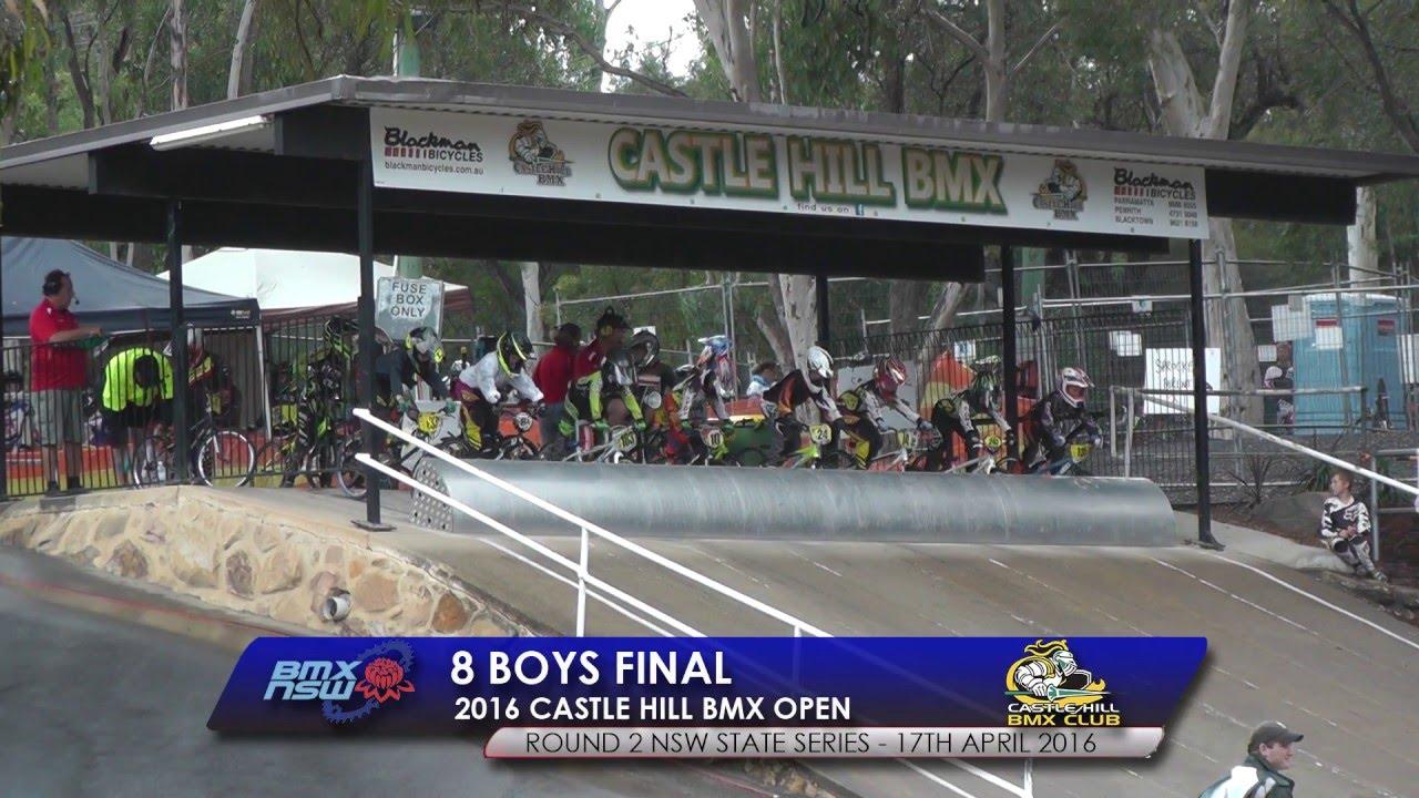 8 boys final 2016 castle hill bmx open - Open Castle 2016