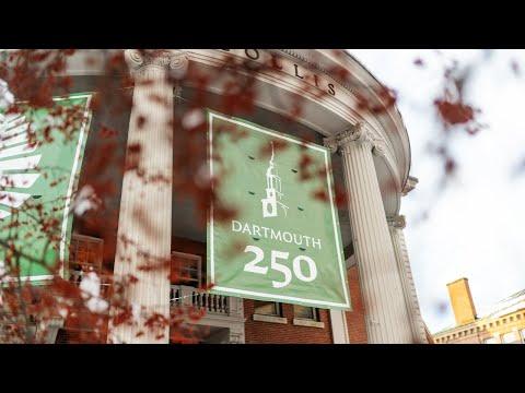 Dartmouth's Yearlong 250th Celebration