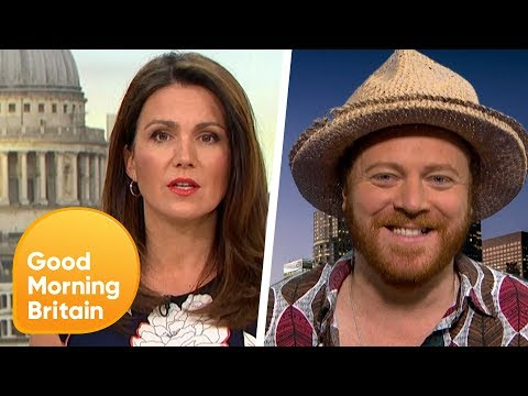 Keith Lemon Causes A Shock In The Studio | Good Morning Britain