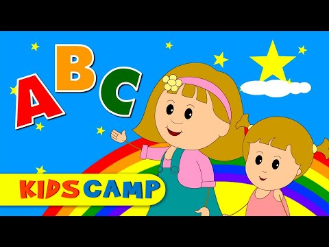 ABC Song for Children  Popular Nursery Rhymes Compilation from Kidscamp