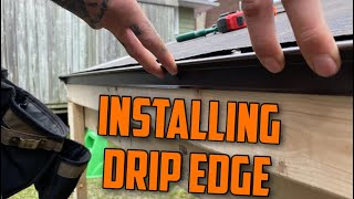 How To  Nstall Drip Edge On A Roof