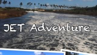 JET ADVENTURE no Rio Jacuípe e Capivara [HD]