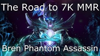 Dota 2 Phantom Assassin Guide: 6.6K MMR - How to Farm Fast, Carry, Pro Gameplay Efficient Farming